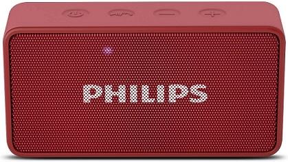 Philips BT64R Portable Bluetooth Speaker