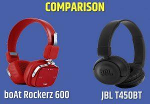 boat rockerz 600 vs jbl t450bt