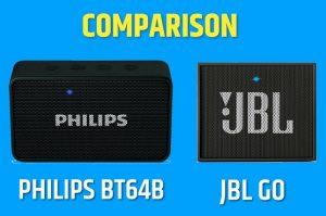philips bt64b vs jbl go