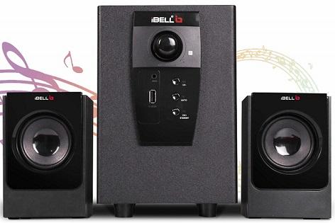iBELL E240BT 2.1 Bluetooth Speakers